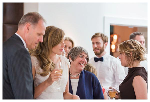 wedding celebration in Islington