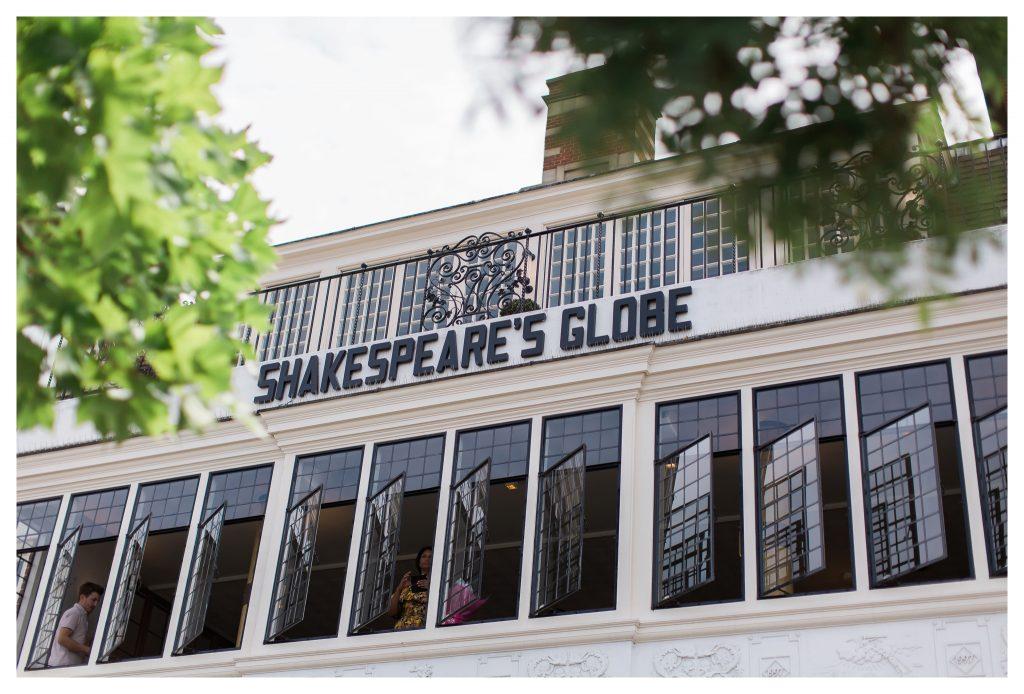The Swan at Shakespeare's Globe wedding venue