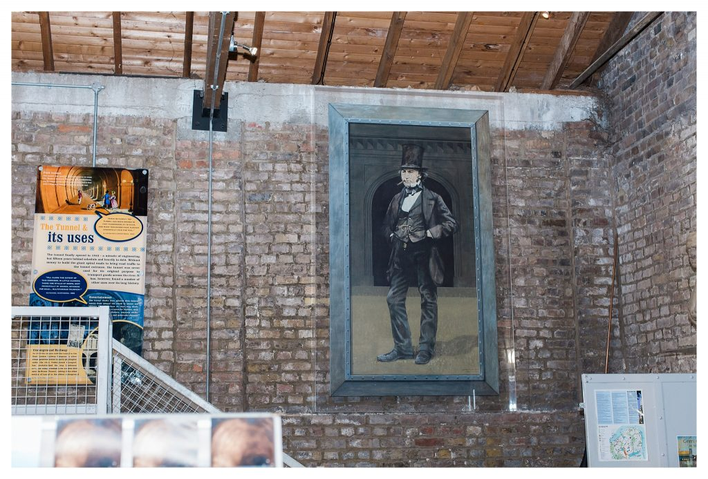 Isambard Kingdom Brunel portrait