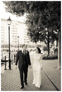 Chelsea Harbour wedding