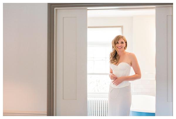 boudoir style bridal prep photography