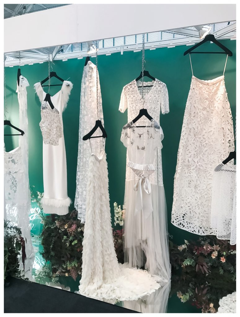 Halfpenny London 2018 wedding trends at Brides the Show