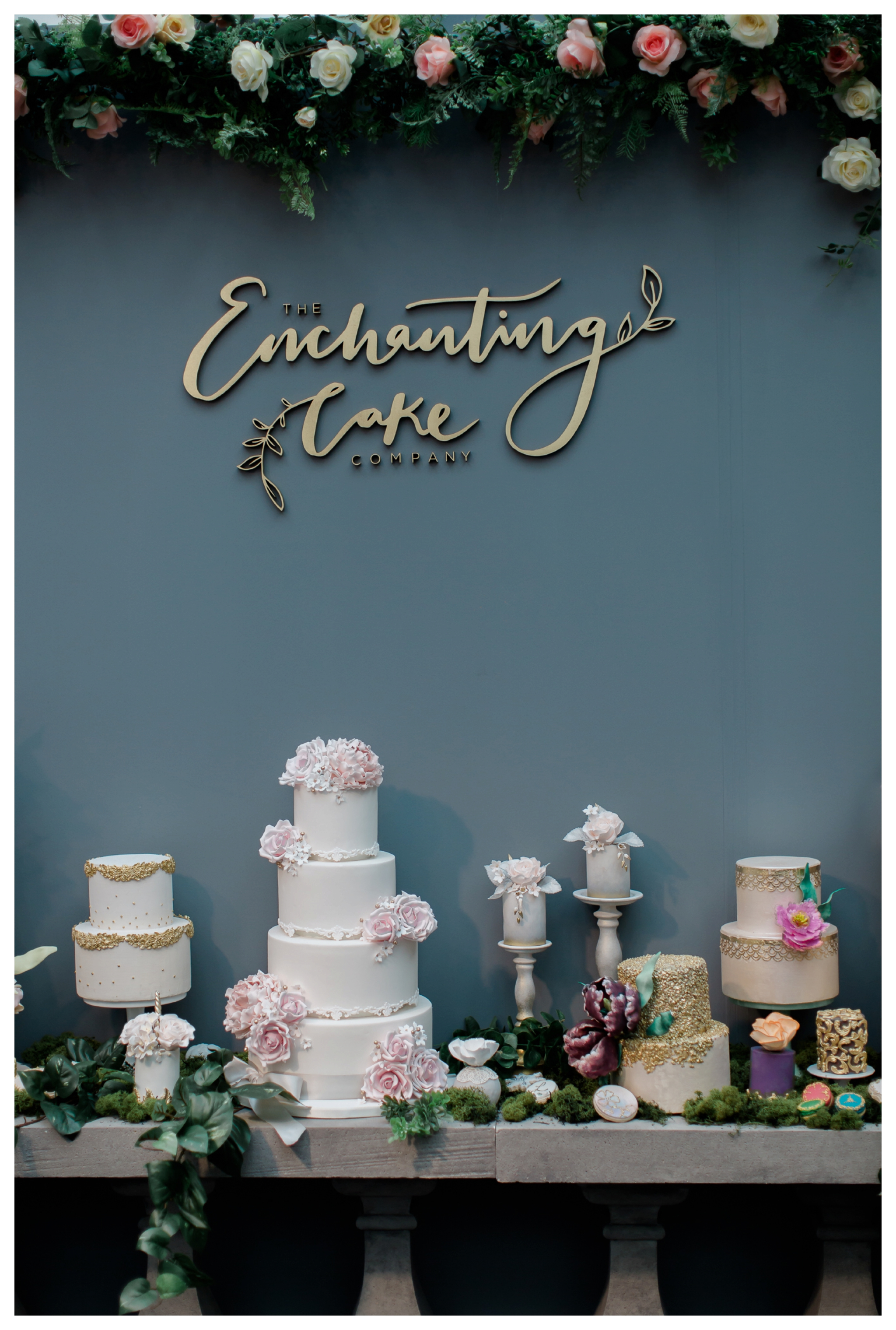 2018 wedding trends The Enchanting Cake Company at Brides the Show