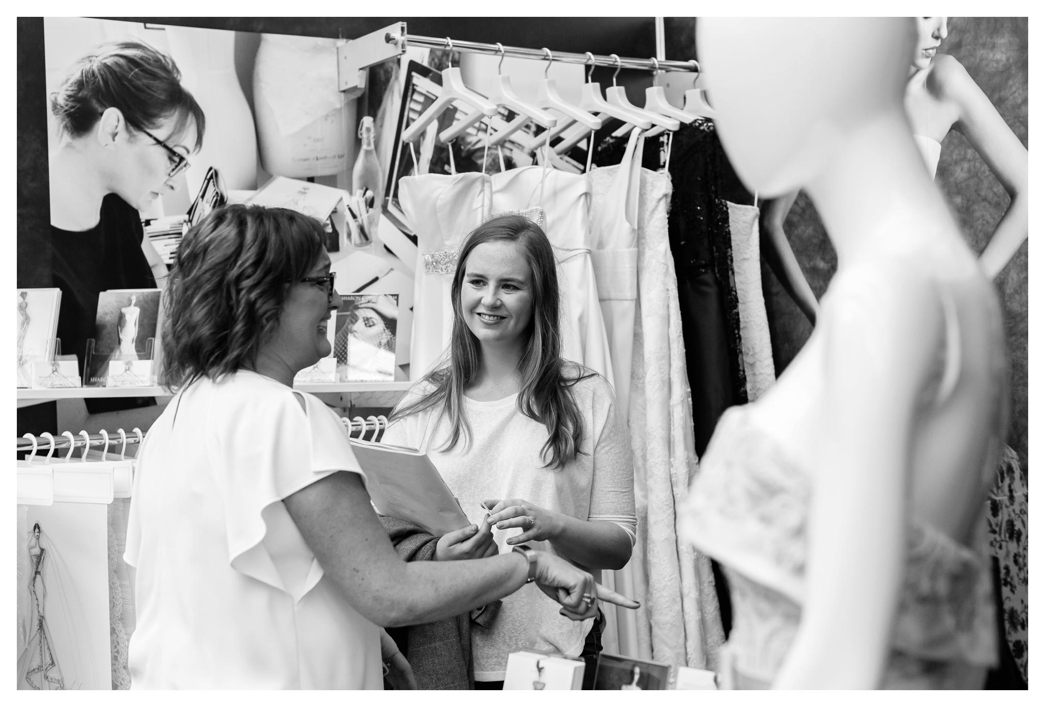 Sharon Cunningham bridalwear