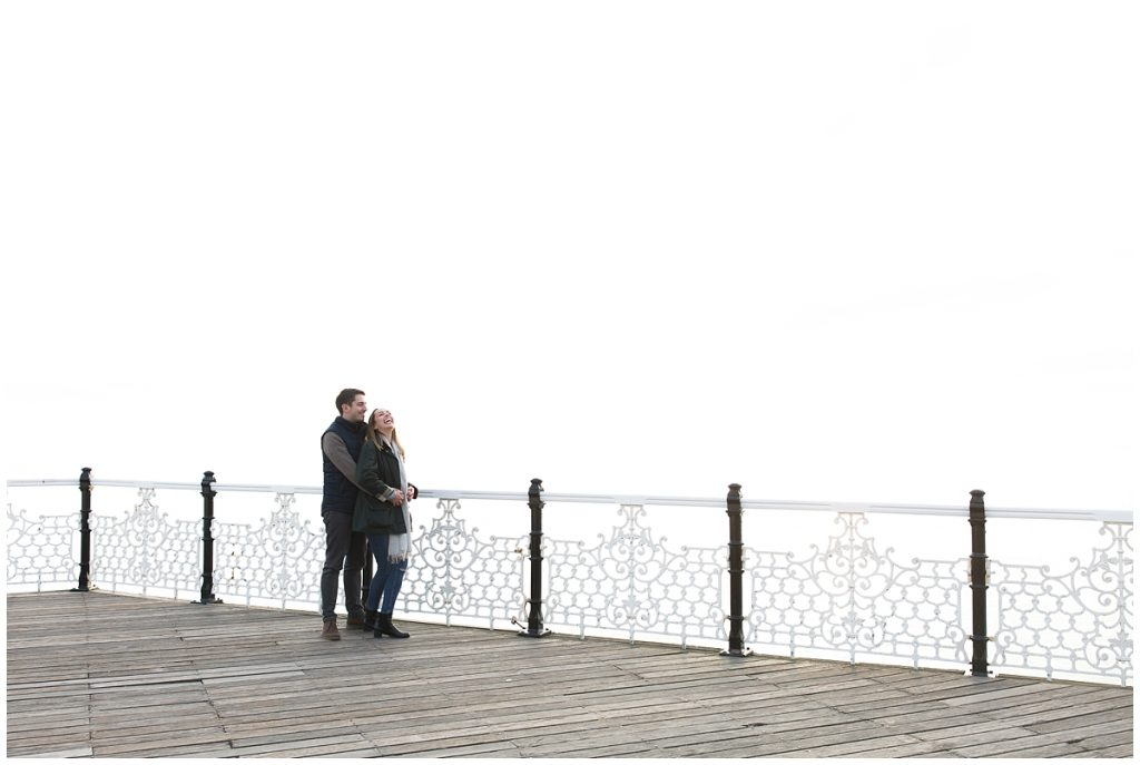 modern Brighton Engagement photography