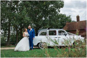 Bride and groom at Yoghurt Rooms wedding venue
