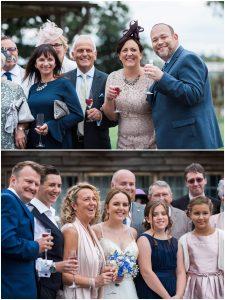 Wedding guests at Yoghurt Rooms wedding venue