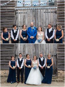 wedding party at Yoghurt Rooms wedding venue