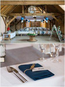 Wedding decoration at Yoghurt Rooms wedding venue