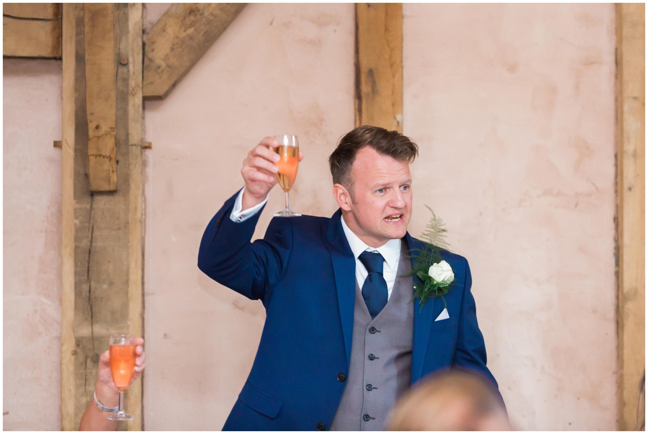 Best man speech at Yoghurt Rooms wedding venue