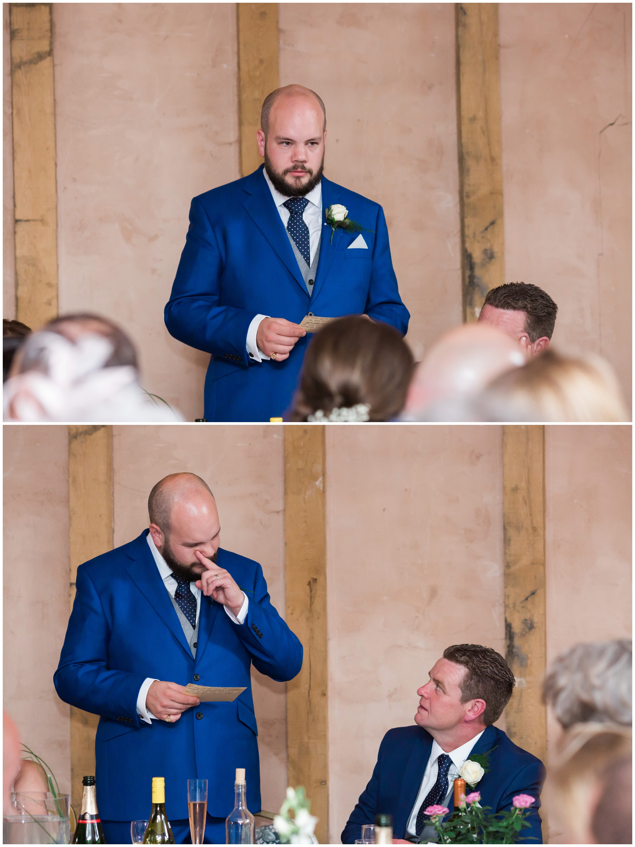 Groom speech at Yoghurt Rooms wedding venue