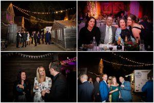 Wedding guests dancing at the Yoghurt Rooms in East Grinstead