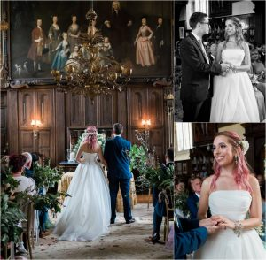 Loseley Park wedding ceremony