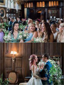 Loseley Park wedding ceremony