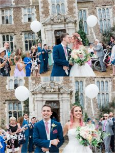 Loseley Park bubble confetti