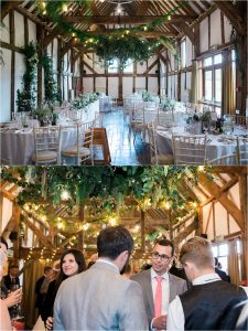 Loseley Park wedding reception