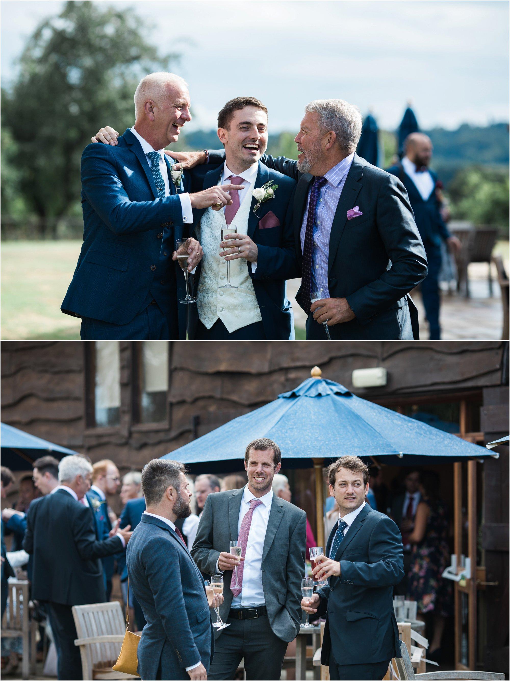 Loseley Park wedding reception