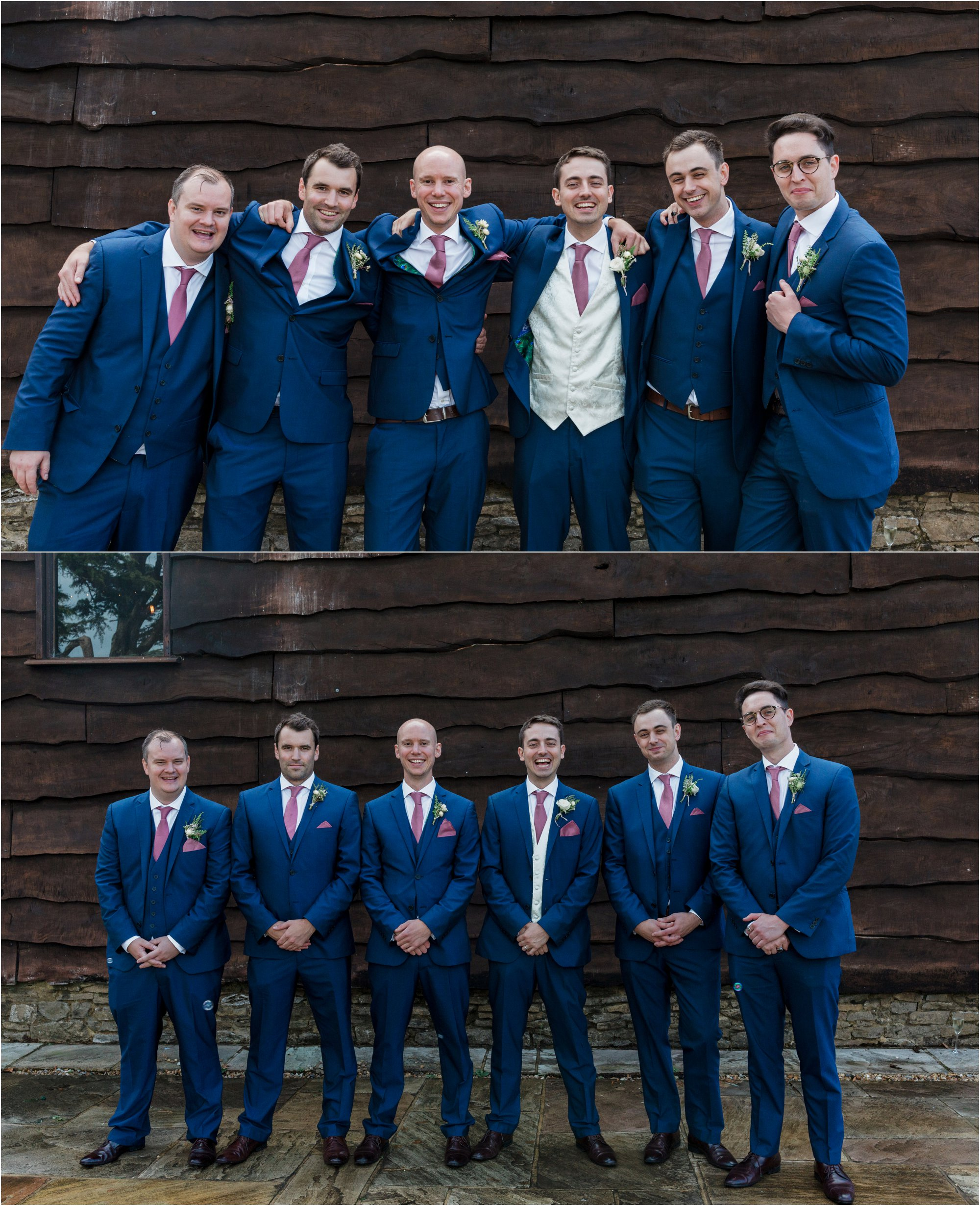 Loseley Park grooms party