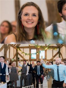Loseley Park speeches at wedding reception