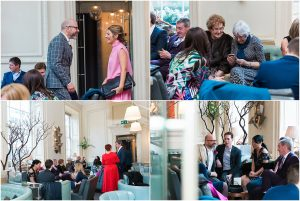 Relaxed and intimate Marylebone wedding