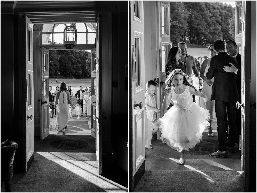 Burhill Golf Club Surrey wedding photographer