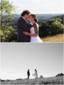 Intimate Surrey wedding